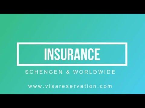 How to get a schengen visa insurance