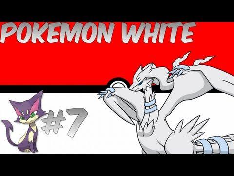 Pokemon White Official English Walkthrough Part 7 - Evolution!! And Purrloin nonsense...