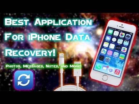 The BEST Way to Recover Data from an iPhone (Tenorshare) | Photos, Messages, Contacts NO JAILBREAK