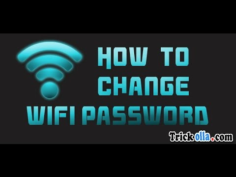 How to change your Wifi name and password - Quick and Easy