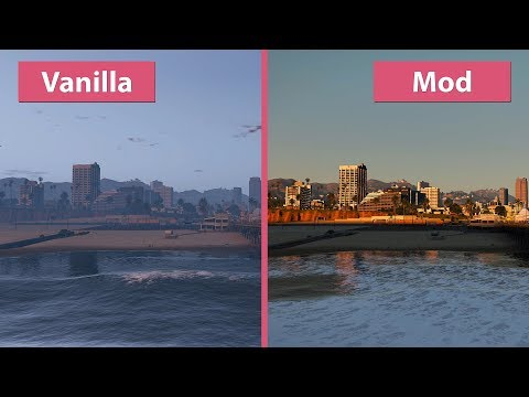 [4K] The Best GTA 5 Graphics Mod? NaturalVision Remastered Comparison [Revisit]