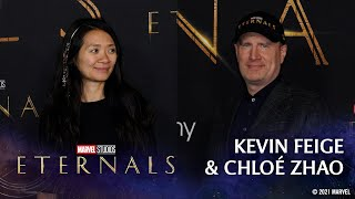 Chloe Zhao \u0026 Kevin Feige on Bringing Marvel Studios' Eternals To Life