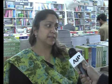 Decline in habit of book reading