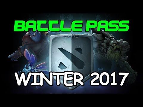 Dota 2 Winter Battle Pass 2017 Guide & Treasure Opening