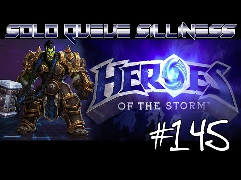 SOLO QUEUE SILLINESS #145 - CHAINED! [HEROES OF THE STORM HD]