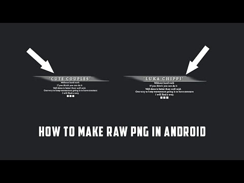 How To Make Raw Png Like Photoshop || Android || Rahul Creations (Check Discrption)