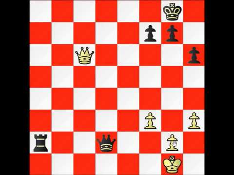 SIX WAYS YOU CAN DRAW A GAME OF CHESS!!