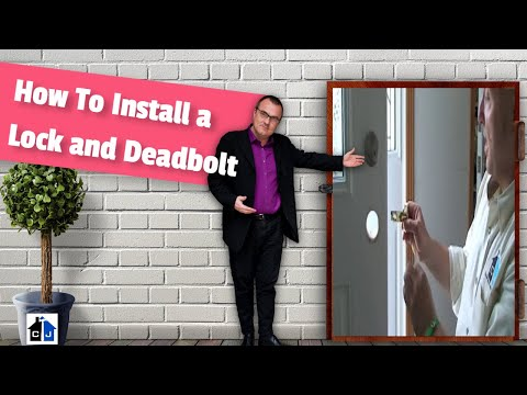 How To Install or Change a Schlage Door Lock and Deadbolt