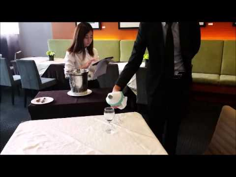 Training - White Wine Opening ( Benjamin Tsang Jun Wei_Group 6)