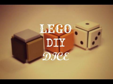 Simple DIY LEGO Dice MOC + Tuturial