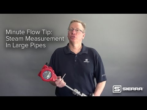 Minute Flow Tip: Steam Measurement In Large Pipes