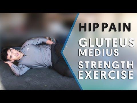 Hip Pain Relief Exercises | Gluteus Medius Strength Exercise