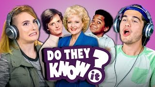 DO COLLEGE KIDS KNOW 80s TV THEME SONGS? (React: Do They Know It?)