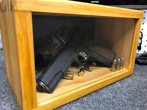 Make a Handgun Shadow Box