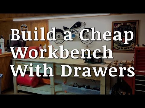 Build a Workbench with Drawers for $65
