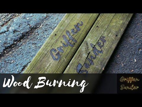 Wood Burning for Beginners - Custom DIY Wood burned Sign