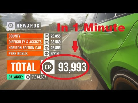 Forza Horizon 3 (FH3) Make Money Fast - 100k In A Minute