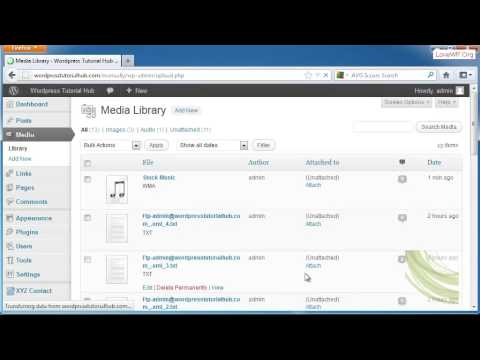 How to Add Image, Video & Audio in Wordpress (Media Library)