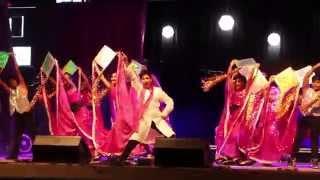Shiamak Toronto: Diwali RazzMatazz 2015: Showkids Part 1 (Dheel De De and Rang Barse)