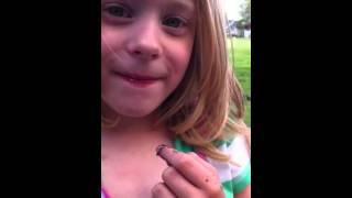 Download Lillian with a slug Video