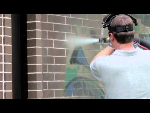 HOW EASY GRAFFITI REMOVAL CAN BE WITH THE DUSTLESS BLASTER