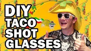 DIY Taco Shot Glasses - Man Vs Corinne Vs Pin