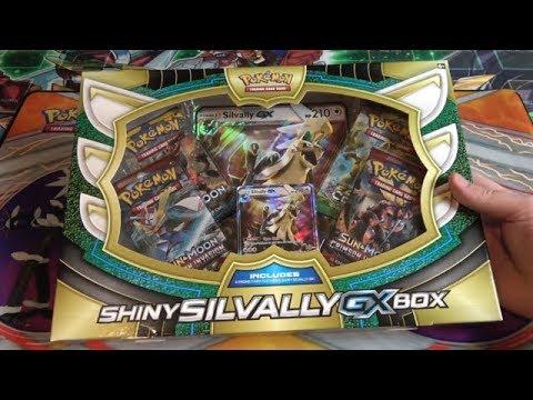 Pokemon TCG Shiny Silvally GX Unboxing - Giant Promo Card