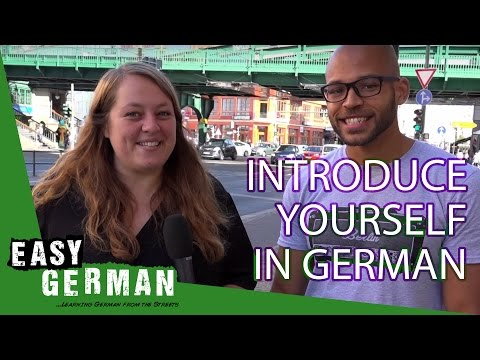 Introduce yourself in German | Super Easy German (1)