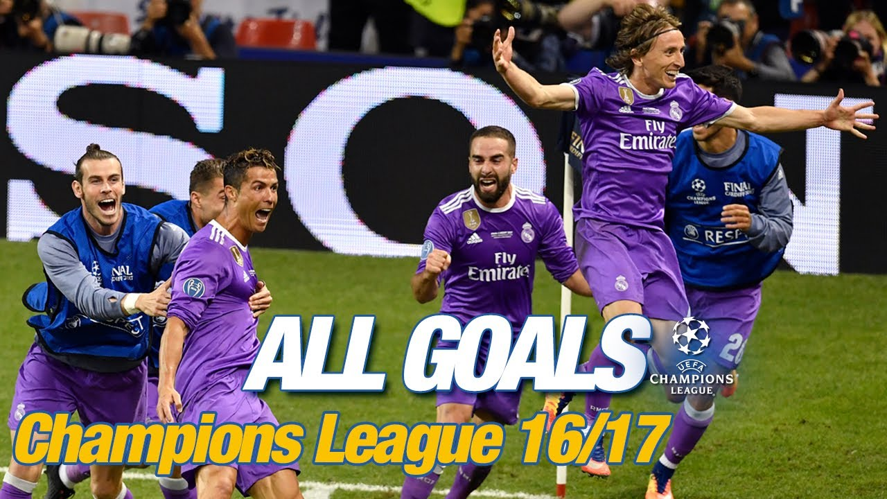 Every Champions League goal 2016/17 | The BBC on fire & two amazing Cristiano hat-tricks!