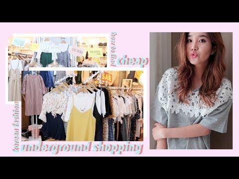 Tips for Underground Shopping + $10 Korean Fashion Haul