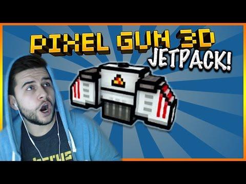 JETPACK UNLOCKED AND MOLOTOV COCKTAIL RAMPAGE! Pixel Gun 3d