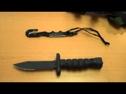 ONTARIO KNIFE: ASEK (Aircrew Survival & Egress Knife) by TheDoubleFeed