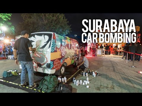 CAR BOMBING BY GO AHEAD PEOPLE SURABAYA