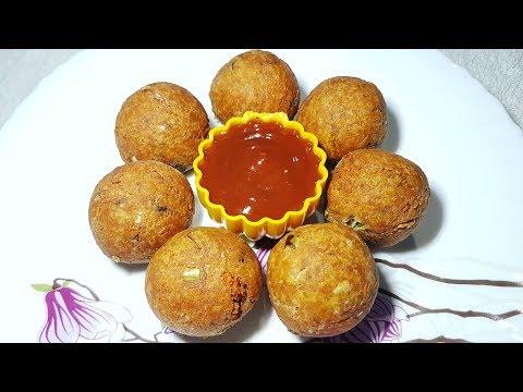 पोहा और आलू के टेस्टी बॉल्स सुपर फ़ास्ट नास्ता Poha potato balls poha aaloo balls breakfast