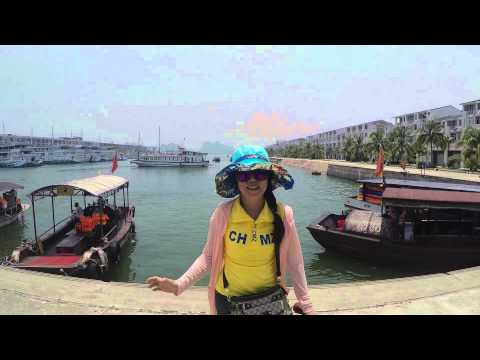 GoPro Hero 4 Vietnam Ha Long Bay & Hanoi Trip