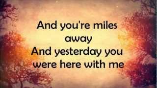 Ed Sheeran Autumn Leaves Lyrics