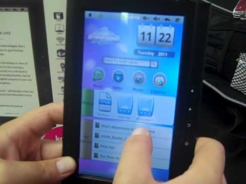 ematic eBook Reader and Internet Tablet 7