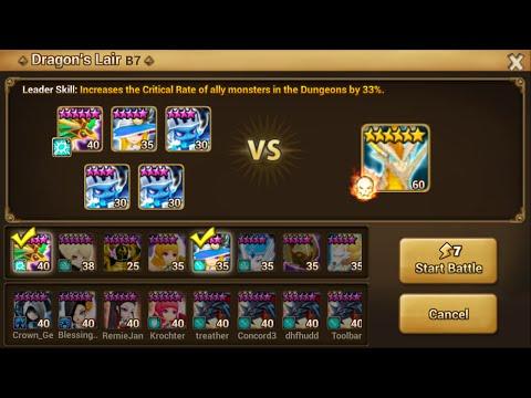 Summoners war sky arena dragon b7