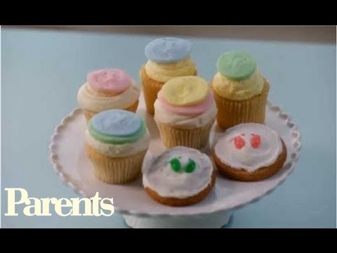 Baby Shower Ideas - Baby-Footprint Cupcakes | Parents