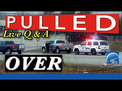 How to Deal With Getting Pulled Over by Police, Tickets & the Courts