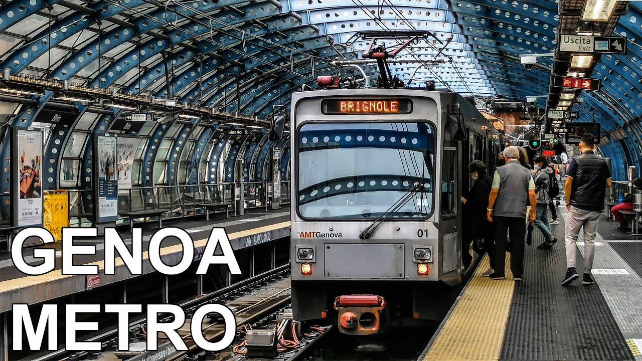 🇮🇹 Genoa Metro - Metro di Genova (4K) (2020)