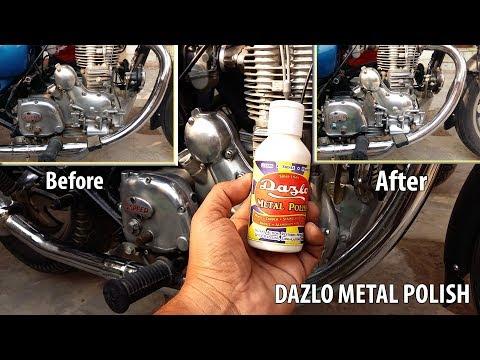 Royal Enfield Aluminium Engine Polishing.| Bike Metal Polish.