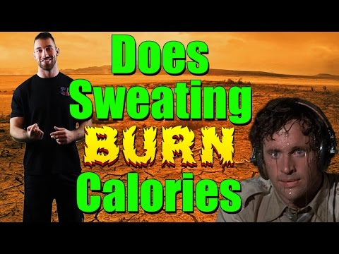 Does Sweating Burn Calories | Help Make You Lose Weight