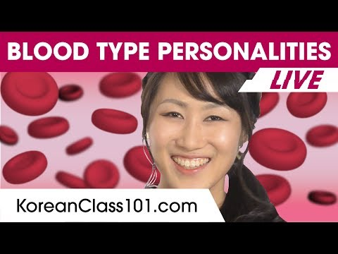 The Secret of Korean Blood Type Personalities | Learn Korean
