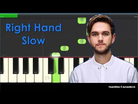 How to Play The Middle by Zedd, Maren Morris, Grey - Right Hand Slow Easy Piano Tutorial