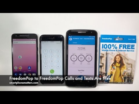 FreedomPop to FreedomPop Calls and Texts Are Free