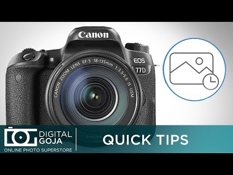Canon EOS 77D Time Lapse Settings   Quick Tip