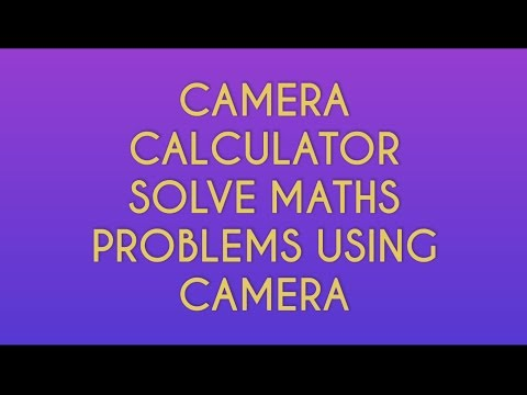 How To Solve Maths Problems Using Camera Calculator [Hindi/English] | Solve Problems In Minutes