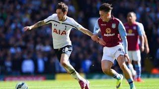 Tottenham Hotspur v Aston Villa (3-1) in the Premier League on Monday night