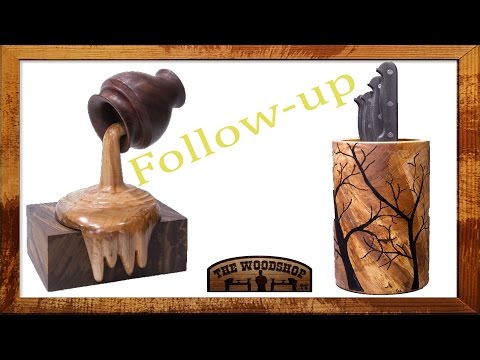 Woodturning Project Follow-up